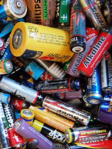 Inzamelen batterijen
